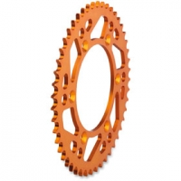 Corona KTM Arancio ergal 50 denti Moose Racing