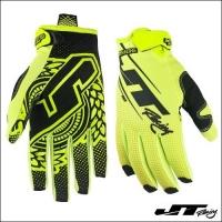 Guanto JT Racing Hyperlite Neon Yellow