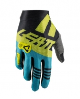 Guanto LEATT 2.5 Lime-Blu