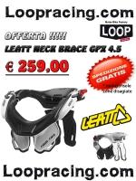 Leatt Neck Brace GPX 4.5 White