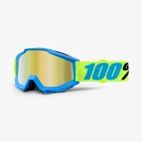 Occhiali/Mascherina 100% ACCURI BELIZE IRIDIUM doppia lente