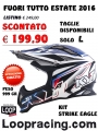Casco KYT STRIKE EAGLE BLU 2016