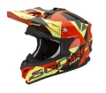Casco SCORPION  VX-15 AKRA YELLOW