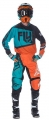 Completo FLY RACING F16 ORANGE/TEAL 2017 Offroad Cross
