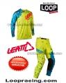 Completo Leatt 4.5 Giallo fluo/Blu