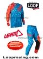 Completo Leatt 4.5 Red/Blu