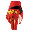 Guanto 100% AIRMATIC RED/YELLOW