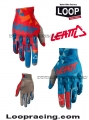Guanto LEATT 4.5 Red-Orange-Blu