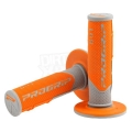 Manopole PROGRIP gray/orange Cross/Enduro Tripla densita'