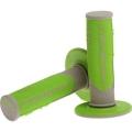 Manopole PROGRIP gray/green Cross/Enduro Tripla densita'
