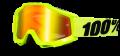 Occhiali/Mascherina 100% ACCURI Ylw FLUO doppia lente