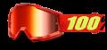 Occhiali/Mascherina 100% ACCURI SAARINEN IRIDIUM doppia le
