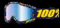 Occhiali/Mascherina 100% ACCURI POLLOK IRIDIUM doppia lente