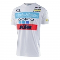tee shirt Troy Lee Design KTM bianco